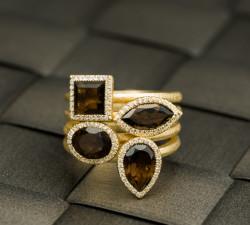 טבעות יהלומים ואבני חן mc 2325