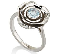 טבעות יהלומים ואבני חן mc 2335 W