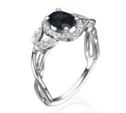 טבעות יהלומים ואבני חן mc7034