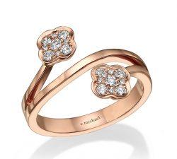טבעות יהלומים mc7060