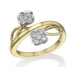 טבעות יהלומים mc7061